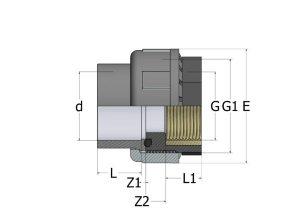 -разборная-ВР-латунь-300x212 ХПВХ муфта разборная с внутренней резьбой латунь
