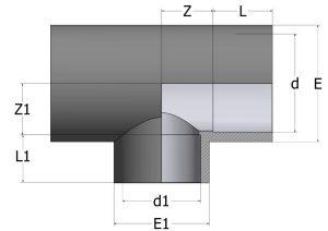TR40-1-300x212 Тройник переходной 90° ПВХ COMER