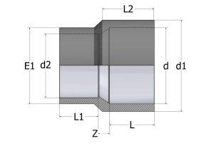 RP20-1-300x212 Втулка-муфта переходная коническая ПВХ COMER