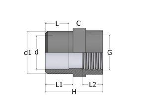 SD12_1-300x212 Втулка-муфта переходная с внутренней резьбой ПВХ COMER