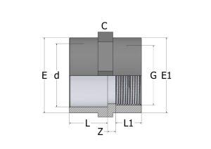 SO12-1-300x212 Муфта переходная внутренняя резьба ПВХ COMER